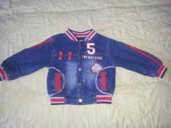 Куртки джинсовые. Рост: 62-68 см