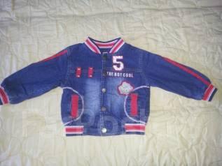 Куртки джинсовые. Рост: 60-68 см