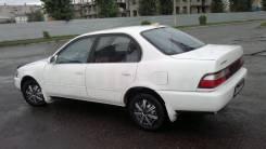 Задняя часть автомобиля. Toyota Corolla, EE100, EE101, CE104, CE100, AE100, AE101, AE102, AE104 Двигатели: 2C, 4AF, 5AFE, 2E, 4EFE, 4AFE, 4AGE, 7AFE