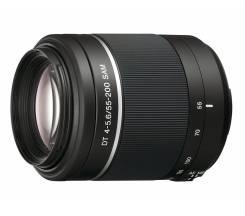 Продам объектив Sony DT 55-200mm f/4-5.6 SAM ! Низкая Цена ! Скупка 25. Для Sony, диаметр фильтра 55 мм