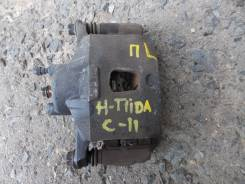 Суппорт тормозной. Nissan Tiida, C11