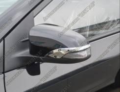 Накладка на зеркало. Toyota Vitz, NSP135, NCP131, KSP130, NSP130