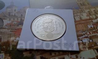 Серебро! Испания. 12 Евро 2003 г. 25 лет конституции Испании. UNC.