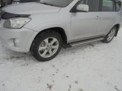 """Подножки боковые RAV -4 2006-2012 """"Мир автолюбителя"""""""