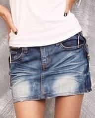 Юбки джинсовые. 42, 46