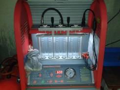 Тестирование и чистка инжекторов авто, стенд, ультразвук. Сканирование.