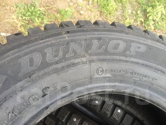 Dunlop SP Winter ICE 01. Зимние, шипованные, 2014 год, без износа, 4 шт
