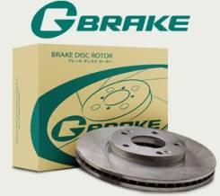 Диск тормозной G-brake GR-20313 задний + Замена Бесплатно. 3-рабочая. Nissan: Skyline, Stagea, Stagea Ixis 350S, X-Trail, Qashqai+2, Leaf, Fairlady Z...
