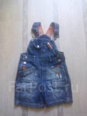 Комбинезоны джинсовые. Рост: 60-68 см
