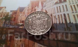 Бельгия. 10 франков 1972 года. Большая красивая монета!