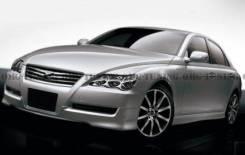 Обвес кузова аэродинамический. Toyota Mark X, GRX125, GRX121, GRX120. Под заказ