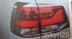 Накладка на стоп-сигнал. Toyota Land Cruiser, UZJ200W, VDJ200, URJ202W, URJ200, URJ202, UZJ200. Под заказ