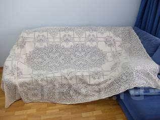Старинная ажурная скатерть. Оригинал