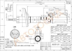 Стойка задняя TOYOTA CARINA/CALDINA/CORONA 92-02 RH SAT ST-48530-20700
