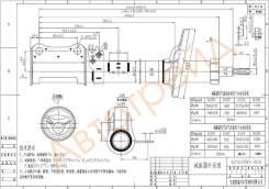 ST-48540-20700 SAT Стойка задняя TOYOTA CARINA/CALDINA/CORONA 92-02 LH