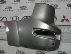 Накладка бампера заднего левая (клык) Outlander XL