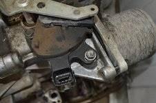 Датчик коробки передач. Nissan X-Trail Двигатель QR25