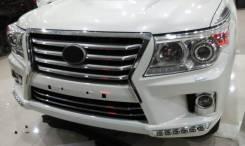 Бампер передний и задний Land Cruiser 200 стиль лексус