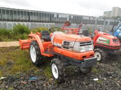 Kubota. Трактор 4wd, фреза в комплекте, 19 л. с., Реверс, ГУР