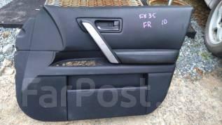 Обшивка крышки багажника. Infiniti FX35, S50