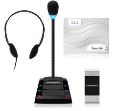 Переговорное устройство клиент-кассир Stelberry SX-401 с записью