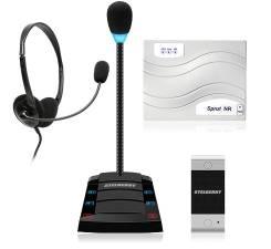 Переговорное устройство клиент-кассир Stelberry SX-402 с записью