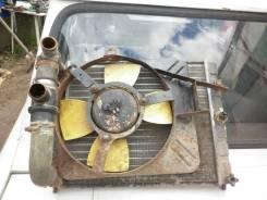 Радиатор охлаждения двигателя. ЗАЗ Таврия