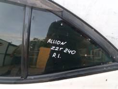 Форточка двери. Toyota Allion, ZZT240, ZZT245, NZT240, AZT240