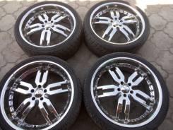 Продаю редкий комплект колёс Giovanna R22 для Infinity FX и Lexus RX. 9.0x22 5x114.30 ET35 ЦО 66,1мм. Под заказ
