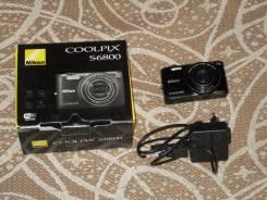Nikon Coolpix S6800. 15 - 19.9 Мп, зум: 12х