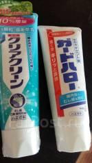 Зубные пасты.