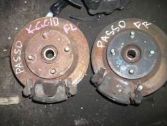Ступица. Toyota Passo, QNC10, KGC15, KGC10 Двигатели: K3VE, 1KRFE