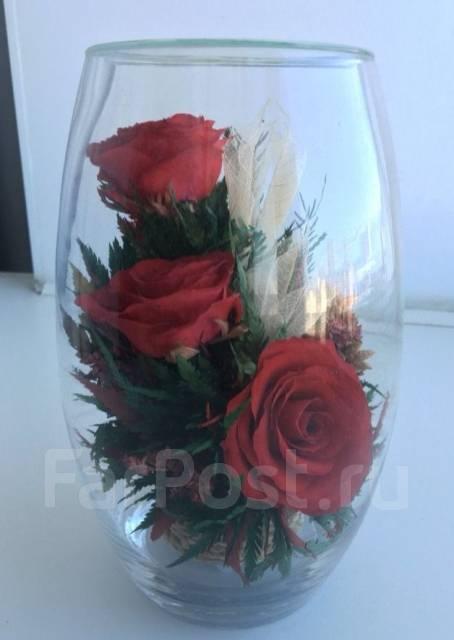 Стабилизированные цветы купить в хабаровске доставка ритуальных цветов по россии