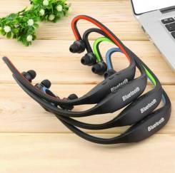 Беспроводные (Bluetooth) наушники для спорта и фитнеса SportBeats S9