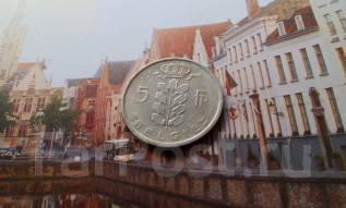 Бельгия. 5 франков 1950 года.