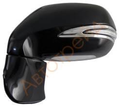 Зеркало LEXUS RX350/450H 09- LH обогрев, поворот, память, подсветка 11конт