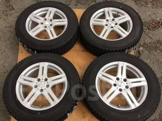 Комплект зимних шин Dunlop 225/65R17 на литье Dufact 7JJ +38. 7.0x17 5x114.30 ET38 ЦО 72,0мм.