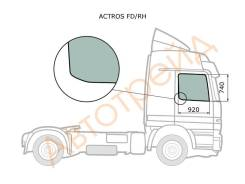 Стекло переднее правое опускное MERCEDES BENZ ACTROS TRUCK 1996-