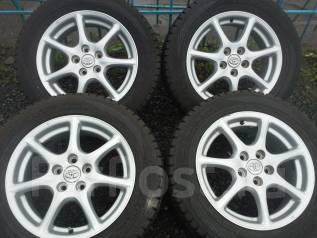 Комплект зимних колес 225/60R17 Yokohama на дисках Toyota 5x114.3. 7.0x17 5x114.30 ET50 ЦО 60,0мм.