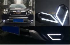 Фара противотуманная. Subaru Forester, SJ, SJG, SJ5