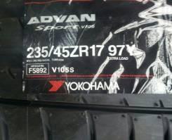 Yokohama Advan Sport V105S. Летние, без износа, 1 шт