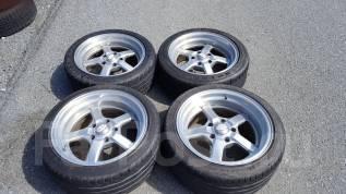 Продам диски с колесами!. 9.5/8.0x17 5x127.00 ET3/3 ЦО 70,0мм.
