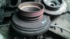 Шкив коленвала. Nissan Diesel Двигатель PF6T