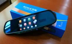 Видеорегистратор на 2 камеры ROGA LX51S + GPS навигатор, Android 4.4