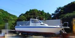 Tohatsu. Год: 2001 год, длина 8,00м., двигатель подвесной, 115,00л.с., бензин. Под заказ