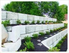 Декоративные подпорные стенки из жби блоков