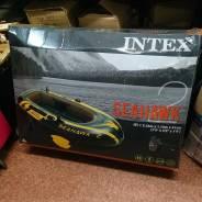 Intex Seahawk. 2015 год год, длина 2,36м., двигатель подвесной, бензин