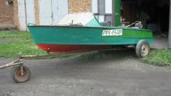 МКМ. Год: 1971 год, длина 4,10м., двигатель подвесной, бензин