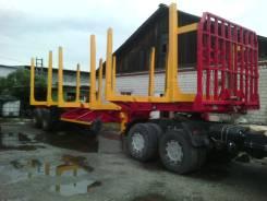 Cimc. П/п сортиментовоз лесовоз. В наличии. готовый к работе, 60 000 кг.