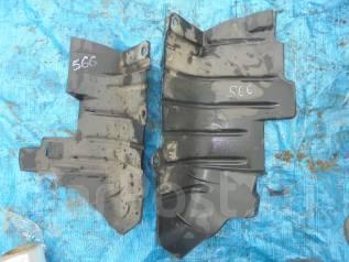 Защита топливного бака. Toyota Harrier, MCU10, MCU15W, MCU15, SXU15, SXU10 Двигатели: 5SFE, 1MZFE